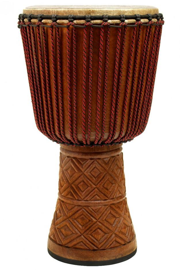 Drumskull Drums Djembe Dugara Douki Beng Wood Guinea