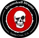 STICKER - DRUMSKULL DRUMS