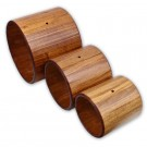MINI DUNUNS MAHOGANY STAVED WOOD