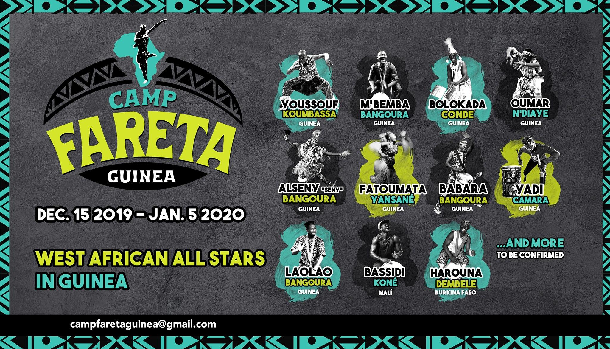 Camp Fareta Guinea 2019