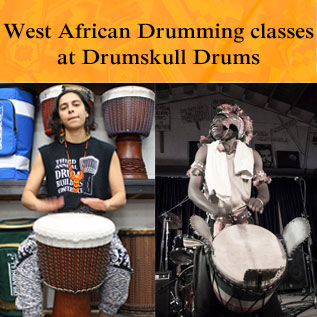Classes at Drumskull Drums