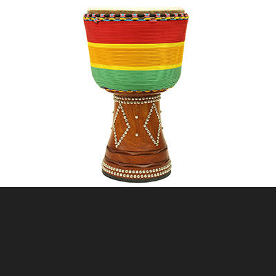 Rope Wrapped Djembe