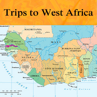 Trips to West Africa
